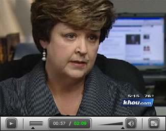 Vickie Morgan speaks with KHOU News.