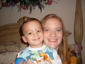 Jenny with Carson